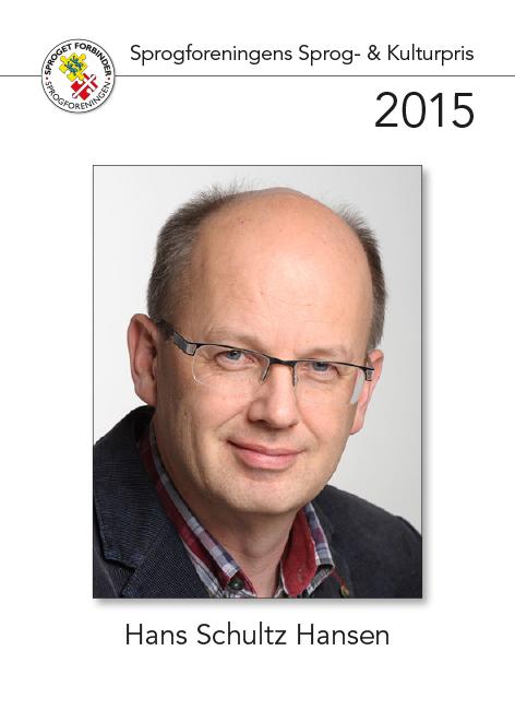 Modtager af sprog- og kulturprisen 2015
