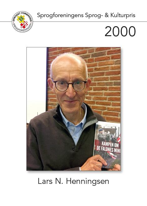 Modtager af sprog- og kulturprisen 2000
